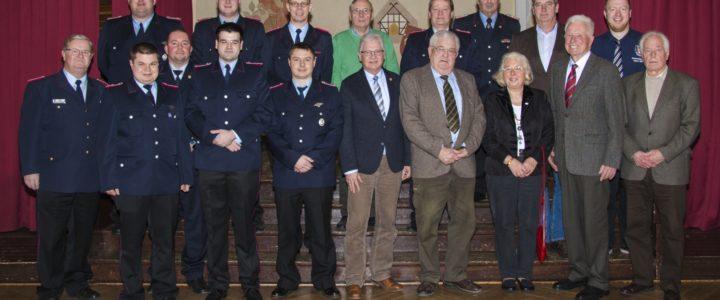 Jahreshauptversammlung der Freiwilligen Feuerwehr Hoiersdorf