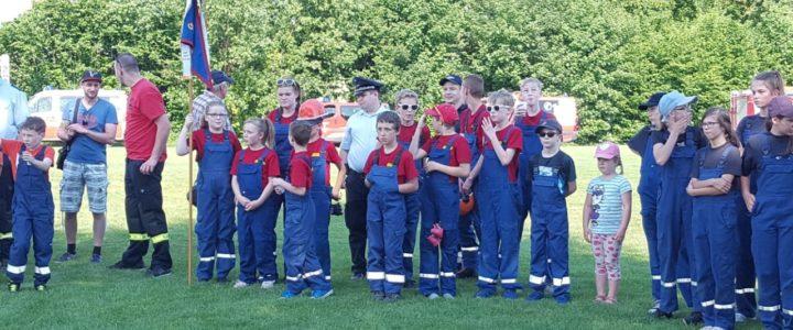 Jugendfeuerwehr Hoiersdorf belegt zweiten Platz bei den Gemeindewettbewerben!