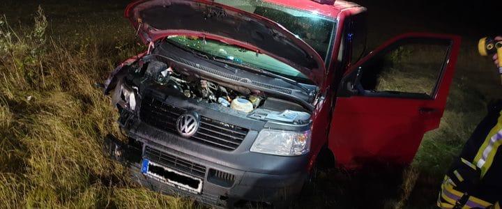Einsatz 16/2019 (02.10.2019) VU: Person eingeklemmt, B244 Hoiersdorf Richtung Söllingen