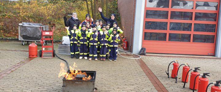 Kinderfeuerwehrtag in Helmstedt